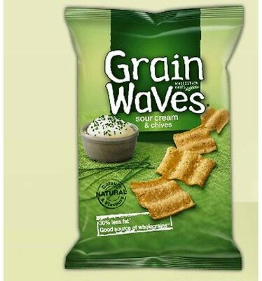 Grain Waves Sour Cream and Chives 110g