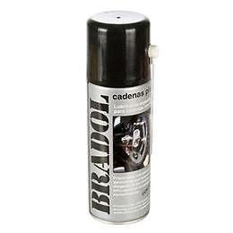 Spray lubricante de cadenas Bradol Plus 400ml alta penetracion