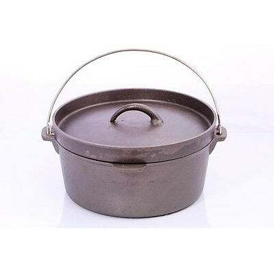 Australian Outback Cast Iron Dutch Camp Fire Oven 12qt /11.35LT Large