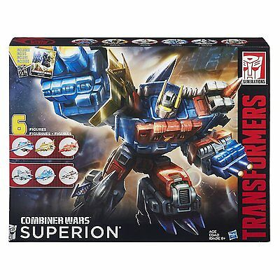 New Transformers Combiner Wars G2 Superion Aerialbots Boxed Set Autobot B3774