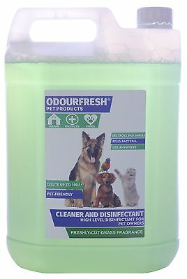 Artificial Grass / Kennel Cleaner Disinfectant & Deodoriser - Mistral Odourfresh