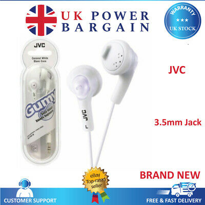 7592ad87cf5 JVC F160 GUMY Bass Boost Stereo Headphon Earphones for iPod Mobile ...