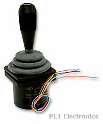 Ch Products    Hfx-22S12-034    Joystick, Hall Effect, 18Deg, Lever
