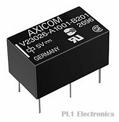 TE CONNECTIVITY / AXICOM    3-1393774-5    Signal Relay, P1/V23026 Series, Latch