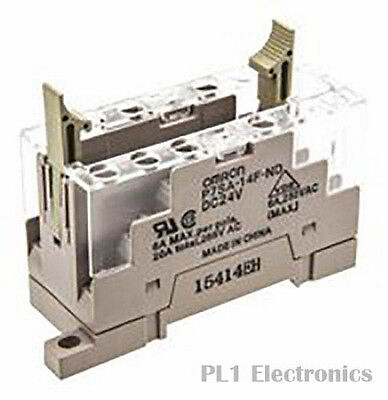 Omron Industrial Automation    P7Sa14Fnddc24    Relay Socket, Track-Mnt, 6 Pole,