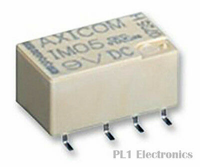 TE CONNECTIVITY    IM23GR    Signal Relay, IM Series, Non Latching, DPDT, SMD, 2