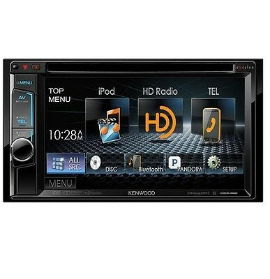 "Kenwood Excelon Ddx492 Car 6.2"" Display Cd/dvd/usb/hd Radio/bluetooth Receiver"