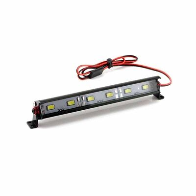 "HobbyStar ""Daylight"" Aluminum 6 LED Light Bar, RC Car Crawler Scale Lightbar USA"