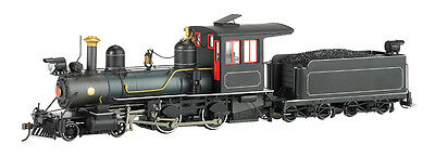 Bachmann On30 Russia Iron Steel Cab, Road Pilot Outside Frame 4-4-0 - DC - 28323