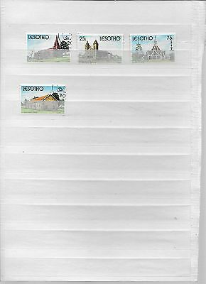 Small set of Lesotho Church Stamps ( lot 1)