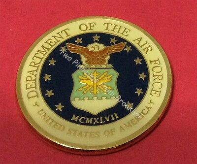 Air Force 50Th Anniversary B-52 2002 Vintage Challenge Coin