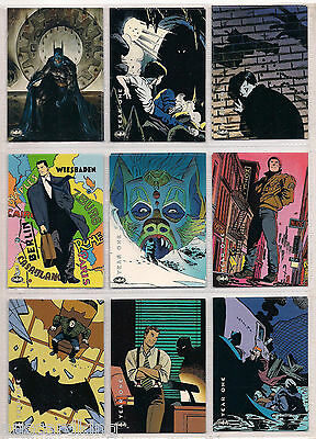 Batman - Saga of the Dark Knight - Trading Card Set (100) - 1994 - NM