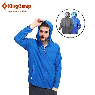 Men Outdoor Jacket Anti-Mosquito Cycling Packable Soft Lightweight Windproof