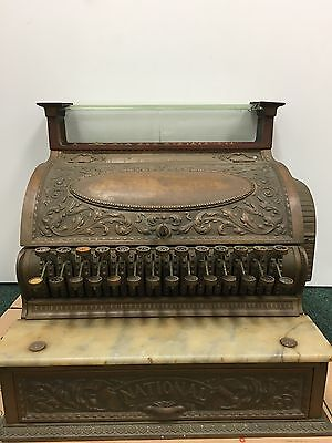 Antique National Cash Register For Repair/restore/Projects/Parts.See Details