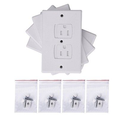 4Pack Baby Child Safety Proof Electric Shock Guard Plug Protector Outlet Cover