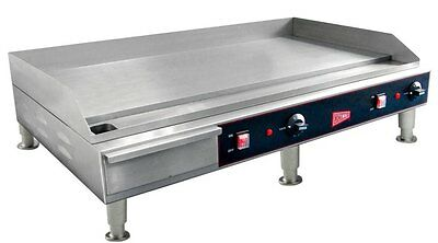 """Countertop Electric Griddle 36"""" Restaurant Kitchen Commercial Flat Top Grill"""