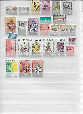 Nice lot of Indonesia Stamps MH (lot2)