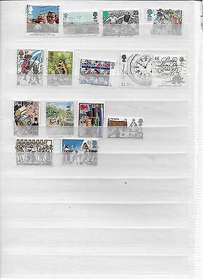 Small lot Great Britain Stamps  (lot 9)