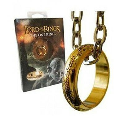 The One Ring LOTR With Chain The Lord of the Rings