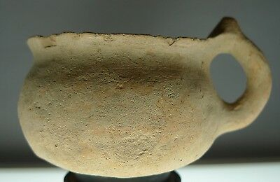 Herodian Terracotta Cup 50 BC - 150 CE Ancient Pottery