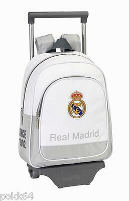 Real Madrid cartable à roulettes 1902 trolley M sac à dos 34 cm maternelle 39245