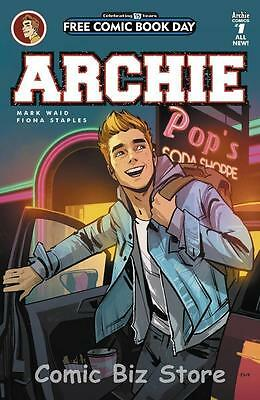 Archie #1 Fcbd Free Comic Book Day 2016 Bagged & Boarded