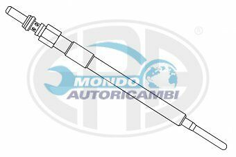 Candeletta Accensione Mazda 3 (Bl) 1.6 Mzr Cd 85Kw 116Cv 11/2010> Y8001As Ge121