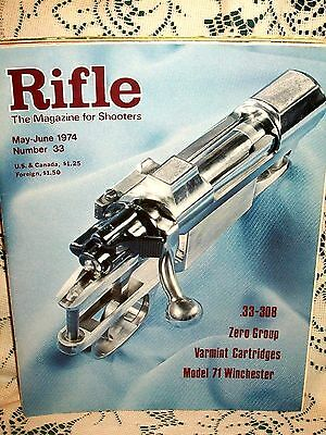 Rifle 5/6 1974~Winchester 71~33-308~Browning 78~Pederson 3000~Weatherby Regency