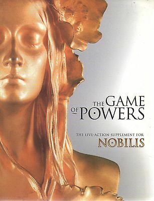 THE GAME OF POWERS-THE LIVE ACTION SUPPLEMENT FOR NOBILIS-LARP-(SC)-rare-new