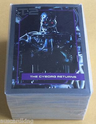 Terminator 2 - Judgement Day - Complete Trading Card Set (140) - IMPEL 1991 - NM