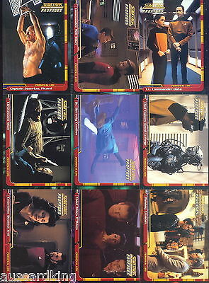 Star Trek - Next Generation - TNG Profiles - Trading Cards SET (82) - 2000 - NM