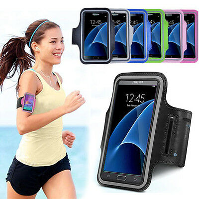 Galaxy S7/S7 Edge Sports Gym Jogging Running Armband Arm Holder Case for Samsung