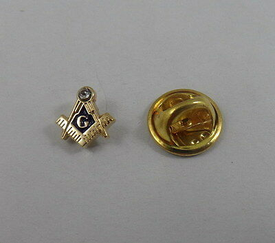 Square and Compass MASTER MASON Lapel Pin Masonic - Small