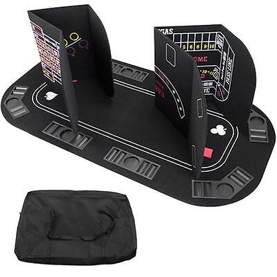 """""""5 in 1 Table Top Includes: Poker, Blackjack, Roulette, Craps"""""""