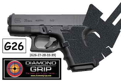 NEW! Diamondgripp Glock [26 27 28 33 39] Silicone-Rubber Grip Tape *FAST SHIP*!!