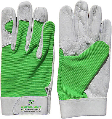 Gardening Garden Gloves Soft Leather Green