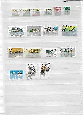 Small lot of Tanzania Stamps (Lot 1)