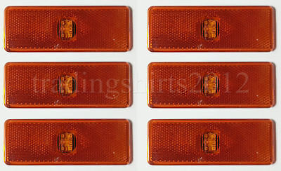 10 X 24v Led White Side Marker Light Fits FOR Mercedes Actros Atego 815  Truck