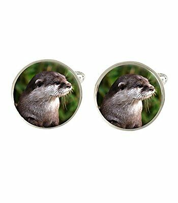Otter Mens Cufflinks Ideal Wedding Birthday Fathers Day Gift C360