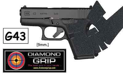 NEW! Diamondgripp Glock [43] Silicone-Rubber Grip Tape *FAST SHIP*!!!