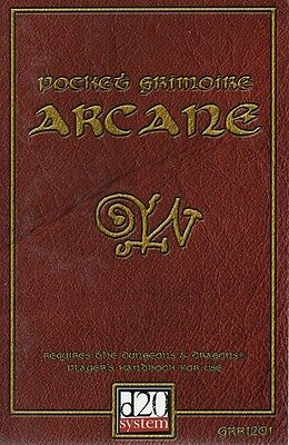 POCKET GRIMOIRE ARCANE-Magic at your fingertips-d20-(SC)-engl.-new-very rare
