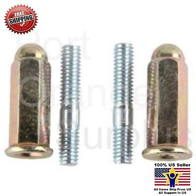 GY6 50-150cc Scooters ATVs Go Karts Moped Quads 6mm Muffler screw Set