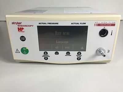 Stryker 0620-040-001 Endoscopy Hermes Ready 40L High Flow Insufflator