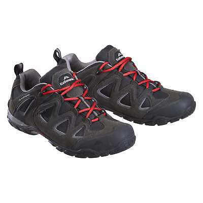 Kathmandu Drysdale Mens Lightweight Suede Casual Trail Hiking Shoes Black
