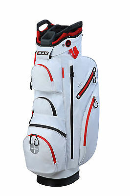 Big Max Cartbag - Dri Lite - wasserdicht - White-Red,  Neu!