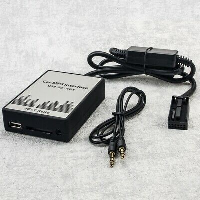 USB SD AUX MP3 Adapter Interface Peugeot 207 307 CC 308 407 SW 607 807 RD4