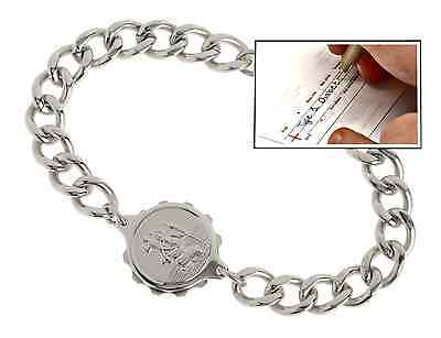 Medical Identity SOS Talisman Gents Steel Bracelet ID - 235503