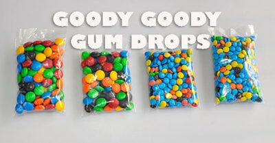100 x M&M Promo Bags for your business