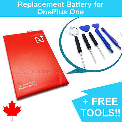 NEW OnePlus One Replacement Battery BLP571 3000mAh with FREE TOOLS
