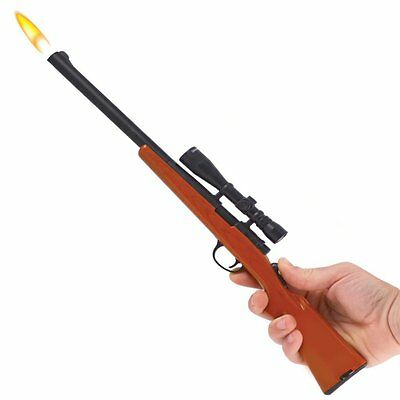 "15"" BOLT RIFLE BARBECUE REFILLABLE UTLITY CANDLE GRILL LIGHTER bbq butane G110B"